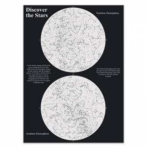 Star Scratch Map by Various