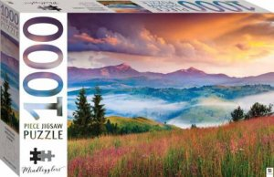 Mindbogglers 1000 Piece Jigsaw: Carpathian Mountains, Europe by Various