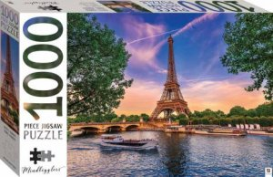 Mindbogglers 1000 Piece Jigsaw: Eiffel Tower, Paris, France
