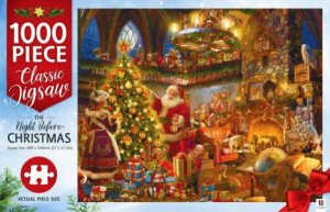 Mindbogglers 1000 Piece Jigsaw: The Night Before Christmas