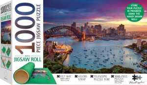 Mindbogglers Jigsaw Roll With 1000 Piece Puzzle: Sydney Harbour, Australia