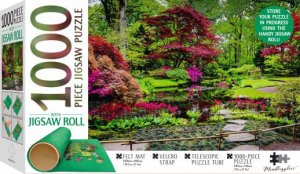 Mindbogglers Jigsaw Roll With 1000 Piece Puzzle: Japanese Garden, The Hague