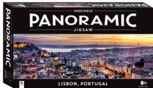 Panoramic 1000 Piece Jigsaw: Lisbon