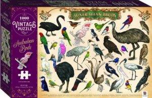 1000 Piece Vintage Jigsaw Puzzle: Australian Birds by Various