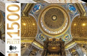 Mindbogglers Gold 1500 Piece Jigsaw: St Peter's Basilica by Various