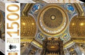 Mindbogglers Gold 1500 Piece Jigsaw: St Peter's Basilica
