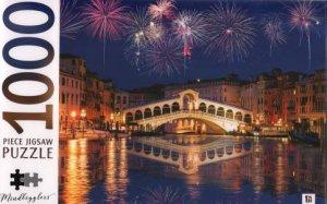 Mindbogglers 1000 Piece Jigsaw: Rialto Bridge, Venice, Italy