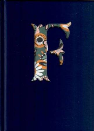 Alphabet Journal: F