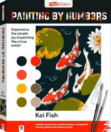 Painting By Numbers: Koi Fish by Various
