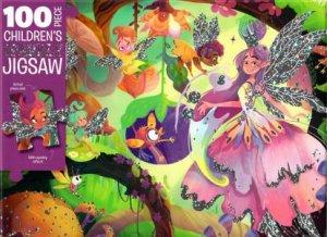 100 Piece Children's Jigsaw: Magical Fairies by Various