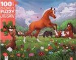 100 Piece Childrens Jigsaw Horses