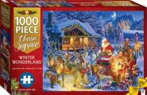Christmas Jigsaw Winter Wonderland 1000-Piece