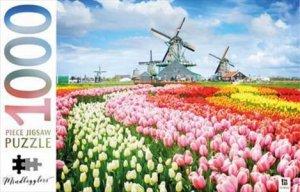 Mindbogglers 1000 Piece Jigsaw: Dutch Windmills, Holland, Netherlands by Various