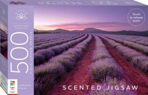 Elevate Scented 500pc Jigsaw: Lavender Fields by Various