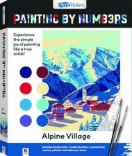 Painting By Numbers Alpine Village