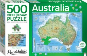 Puzzlebilities 500 Piece Jigsaw Puzzle: Australia