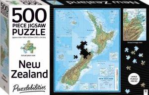 Puzzlebilities 500 Piece Jigsaw Puzzle: New Zealand