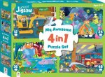 Junior Jigsaw 4In1 Adventure Fun