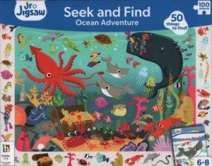 Junior Jigsaw: Seek And Find 100 Piece: Ocean Adventure by Various
