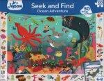 Junior Jigsaw Seek And Find 100 Piece Ocean Adventure