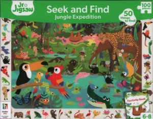 Junior Jigsaw: Seek And Find 100 Piece: Jungle Expedition by Various