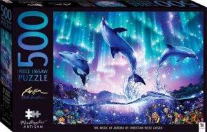 Mindbogglers Artisan Jigsaw Puzzle: The Music Of Aurora
