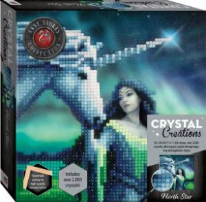 Crystal Creations Canvas Anne Stokes: North Star