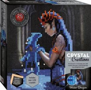 Crystal Creations Canvas Anne Stokes: Water Dragon