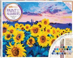 Paint By Numbers Canvas: Sunflower Fields by Various