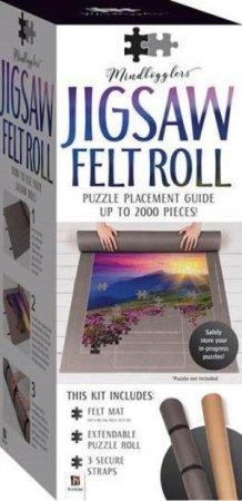 Jigsaw Puzzle Roll - Felt Mat