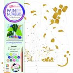 Paint By Numbers Foil Reflections Morning Monstera