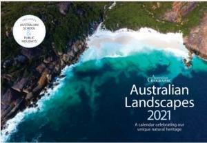 Australian Geographic Landscape Calendar 2021 by Various