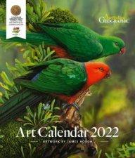 Australian Geographic Art Calendar 2022