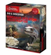 Australian Geographic Dinosaur Fossil Kits Velociraptor
