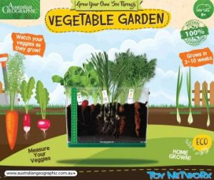Australian Geographic: Sprouts Look & See Vegetable Garden by Various