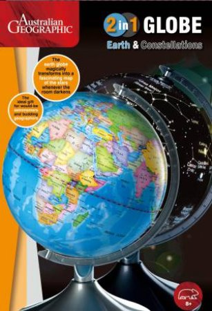 Australian Geographic: Light Up Globe with Constellation: 22.8cm by Various