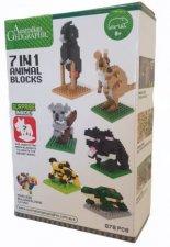Australian Geographic 7 in 1 Animal Blocks