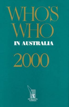 Who's Who In Australia 2000 by Various