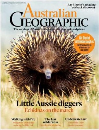 Australian Geographic Issue 159 2020 November - December by Various