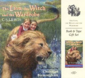 The Lion, The Witch And The Wardrobe - Book & Tape Gift Set by C S Lewis