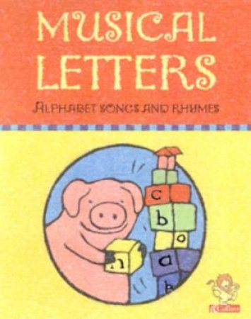 Musical Letters: Alphabet Songs And Rhymes - Cassette by Peter Rinne