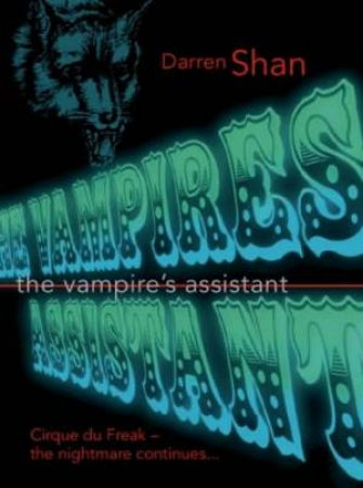 The Vampire's Assistant - Tape by Darren Shan