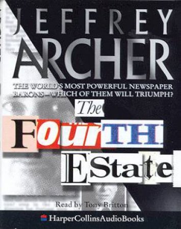 The Fourth Estate - Cassette by Jeffrey Archer