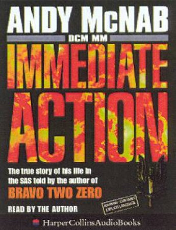 Immediate Action - Cassette by Andy McNab