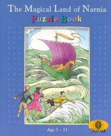 The Magical Land Of Narnia Puzzle Book by C S Lewis
