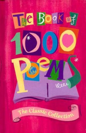 The Book of 1000 Poems by Various