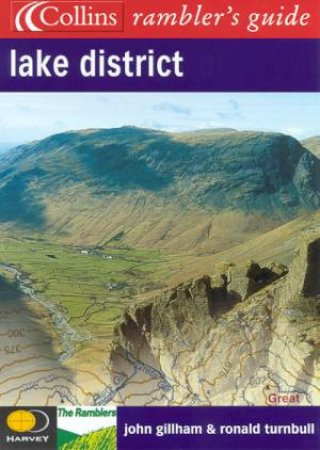 Collins Ramblers' Guide: Lake District by John Gillham & Tonald Turnbull