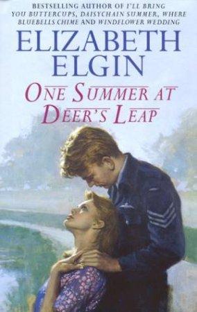One Summer At Deers Leap by Elizabeth Elgin
