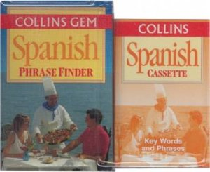 Collins Gem: Phrasefinder Spanish - Book & Tape by Various