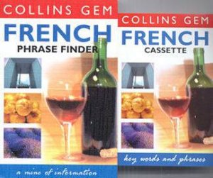 Collins Gem: Phrasefinder French - Book & Tape by Various
